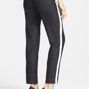 Kenneth Cole Johnny tuxedo striped pant NWT